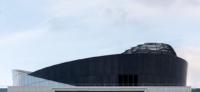 Ein futuristisches Dach auf einem Münchner Gebäude